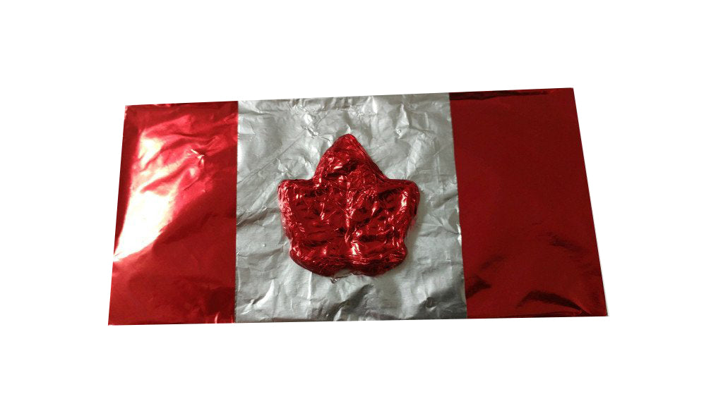 Canada Day Chocolate Bar