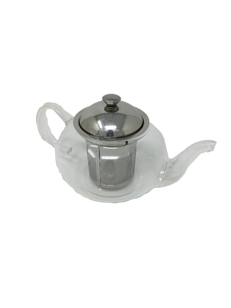 Tea Pot Clear Glass - 2-3 cups