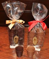 Chocolate cups dark/milk chocolate