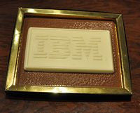Corporate Logo Chocolate Plaque