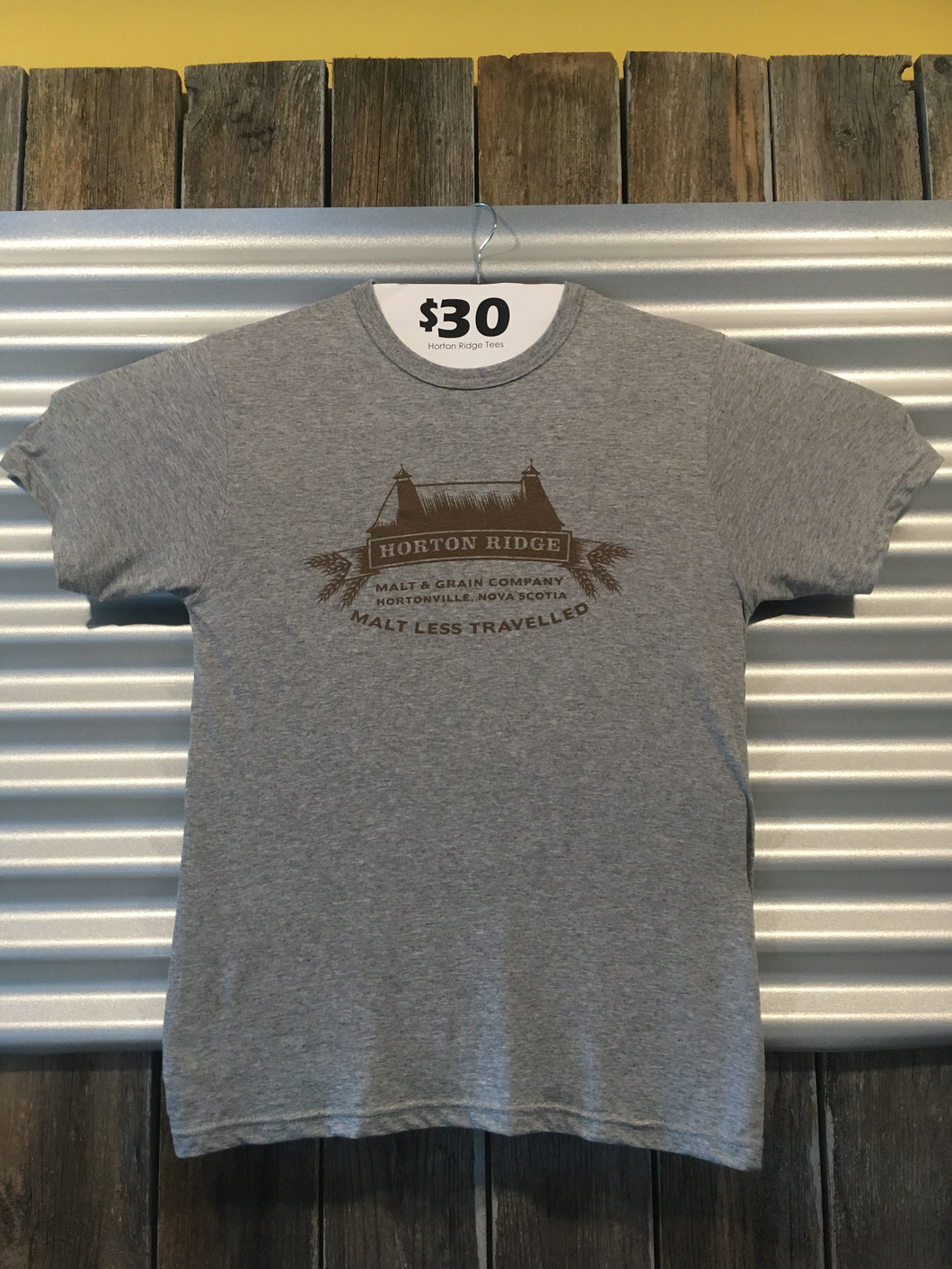 Grey Horton Ridge T-Shirt