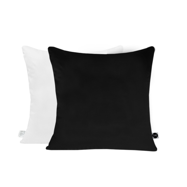 Black Reversible Cushion