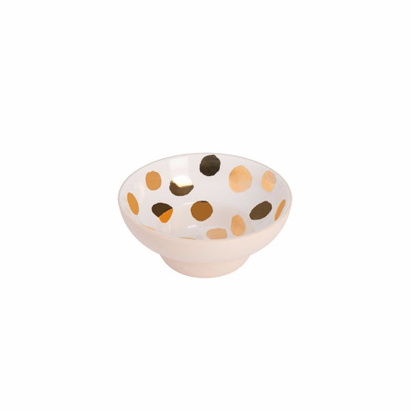 Condiment Bowl - Gold Spot