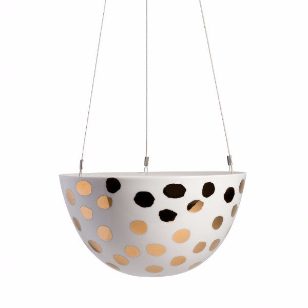 Gold Spot Hanging Garden Planter