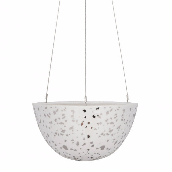 Silver Night Sky Hanging Garden Planter