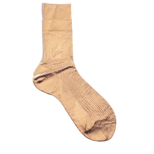 Maria La Rosa / Metallic Sock, Rose Gold