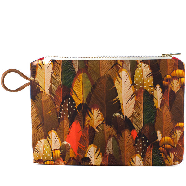 Maison Baluchon / Medium Pouch Feather