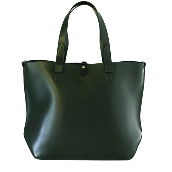 Daniel & Bob / Large Sculptural Tote, Forest Green