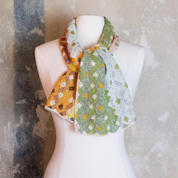 Sophie Digard / Diamond Multi Scarf, Linen
