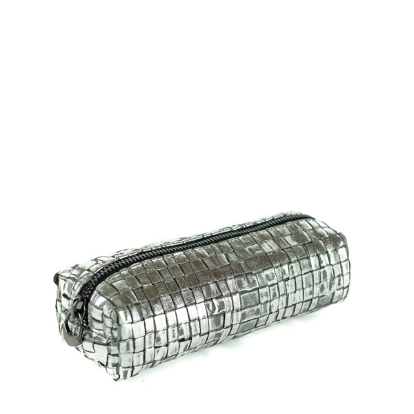 Maria La Rosa / Medium Ribbon Case, Silver