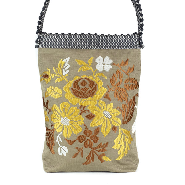 Antonello Tedde  / Embroidered Floral Tote (Exclusive), Olive