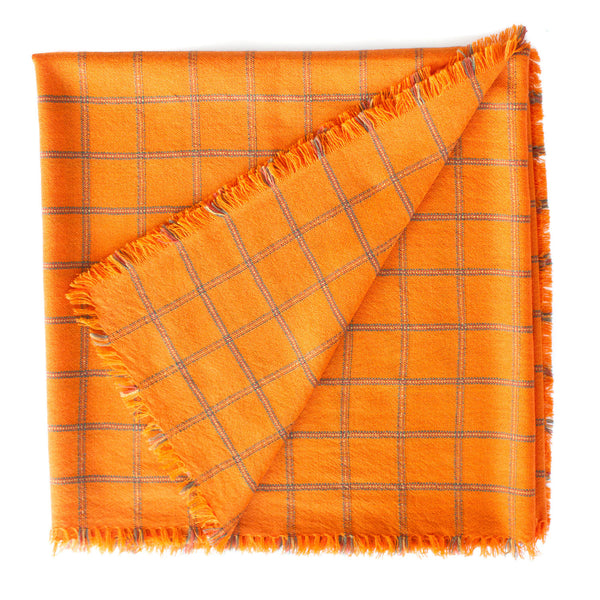 Mia Zia / Plaid, Orange