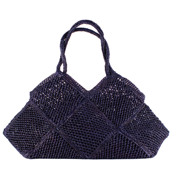 Sophie Digard, Large Angular Tote, Navy