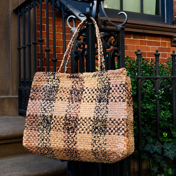 Sophie Digard  / Plaid Tote
