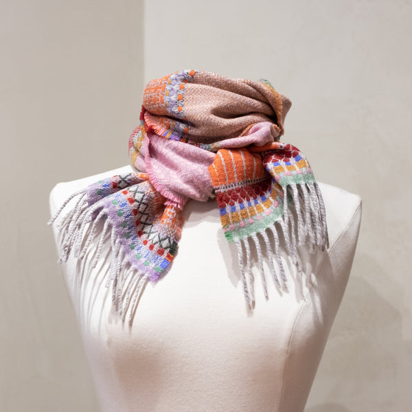 Wallace Sewell / Pick 'N Mix Scarf, Coral