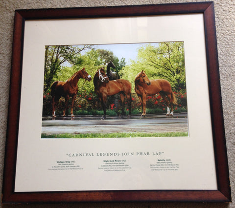 3. Framed - Carnival legends join Phar Lap