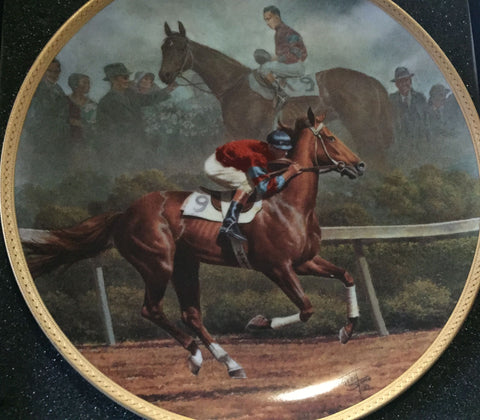 Phar Lap - Fred Stone Collector Plate