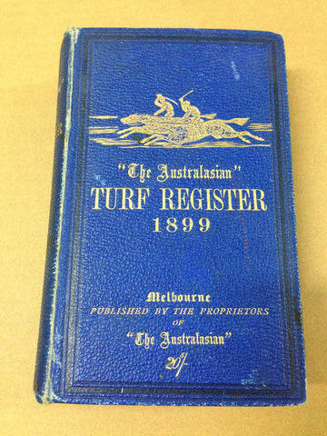 Aust Turf Register 1899