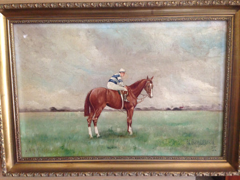 1. Painting - Neil Gow 1910 2000 Guineas