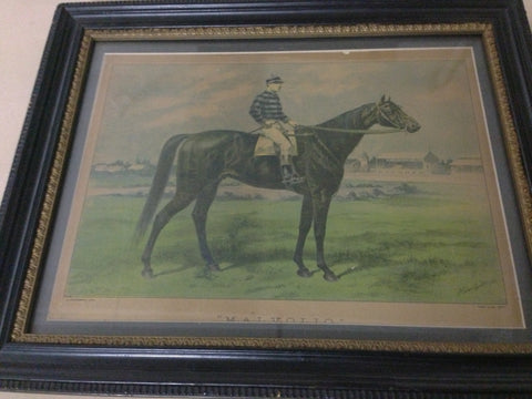 1. Framed - 1891 Melbourne Cup winner - Malvolio