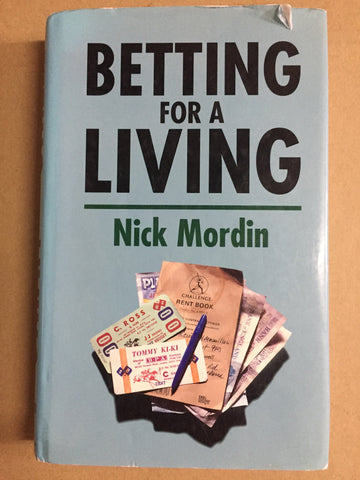 Betting for a living Hardback