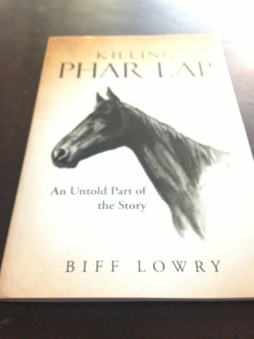 Killing Phar Lap - softcover