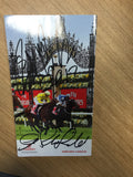 2012 Melbourne Cup signatures everywhere!