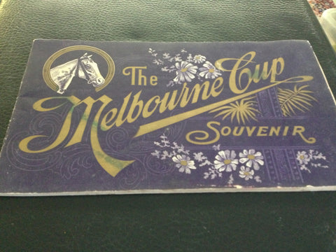 The Souvenir of the Melbourne Cup 1906
