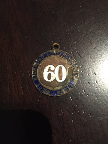 Ascot Richmond Fitzroy Race Badge