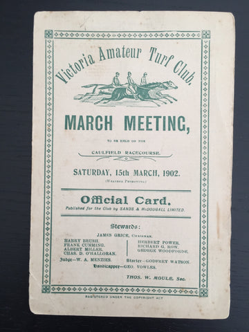 1902 VATC March Meeting
