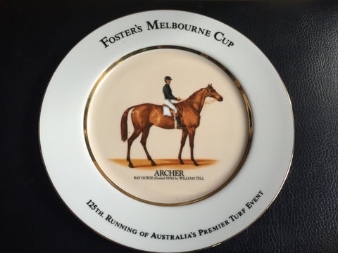 3. Plate - Archer Melbourne Cup Series Boxed