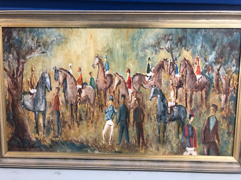 1. Painting - The Country races