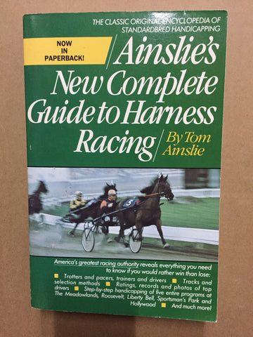 Ainslies complete guide to Harness Racing