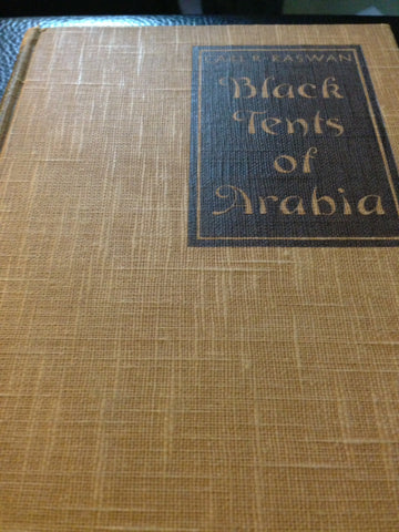 Black tents of Arabia (1935 edition)