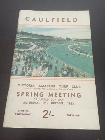 1963 Caulfield Cup Gatum Gatum