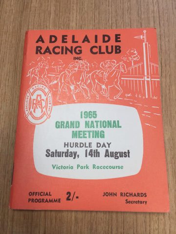 1965 Adelaide Grand National Gatum Gatum, Yangtze, Galilee
