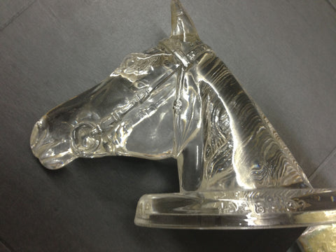 Phar Lap Glass Head - Clear