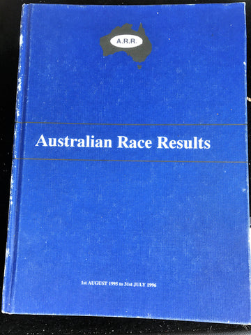 Australian Race Results Vol 19