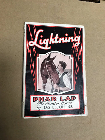 Lightning - Phar Lap the wonder horse
