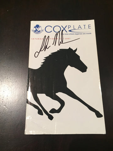 2007 Cox Plate signed by Luke Nolen