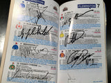 2002 Melbourne Cup Racebook signed all jockeys