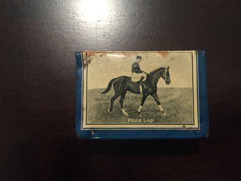 Phar Lap Matchbox holder with Jack Lang