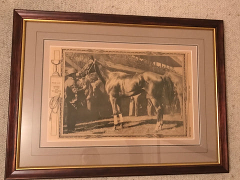 Phar Lap 1930 Melbourne Cup Australasian supplement