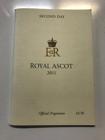 2011 Royal Ascot So You Think signed