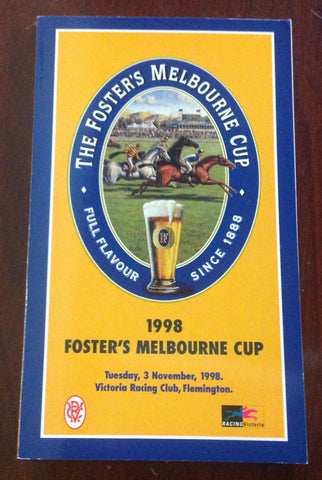 1998 The Foster's Melbourne Cup.