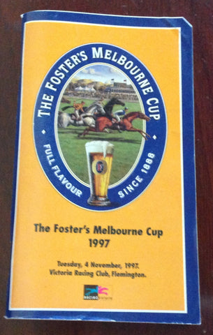 1997 The Foster's Melbourne Cup.