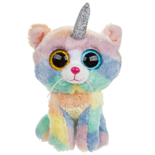TY Beanie Boos Regular Size 'HEATHER' The Cat with Horn