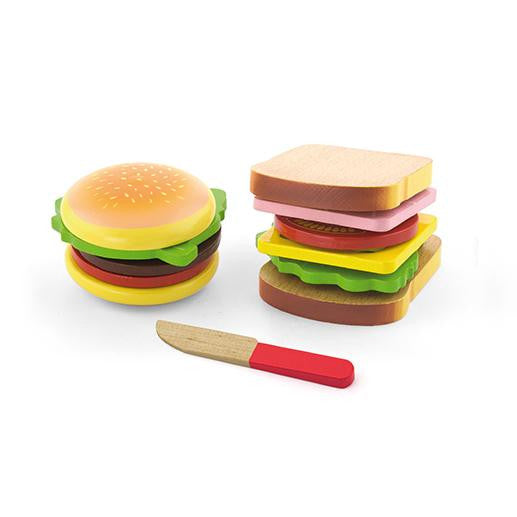 VIGA - Hamburger and Sandwich Set