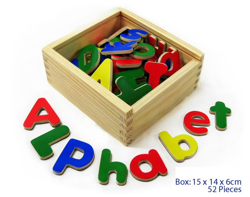 FUN FACTORY - 52pc Magnetic Alphabet