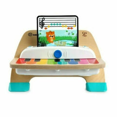 HAPE & BABY EINSTEIN Wooden Light-Up 'Magic Touch Battery Operated Piano'